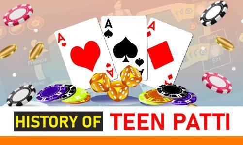 History of Teen Patti